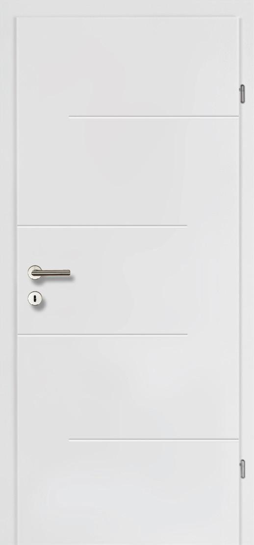 Design Line 30 weiss inkl. Zarge Vollbau Brandschutztüre inkl. Klimaklasse C